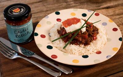 Chilli Con Carne with Chilli Relish