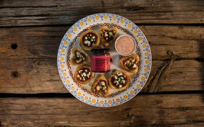 Recipe – Pantry Red Onion and Feta Tartlets